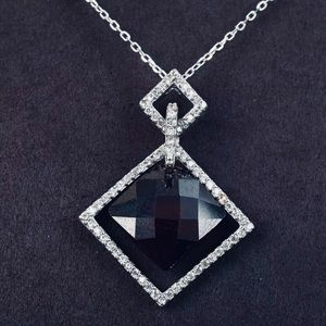 Jewelry - Ruby Necklace Solid .925 SS